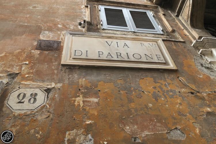 Via Di Parione, Rome