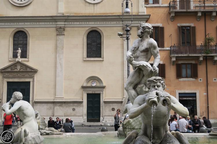 Piazza Navona Fontana Nova
