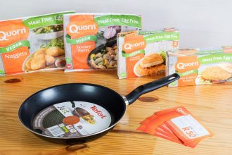 Quorn Vegan hamper give-away