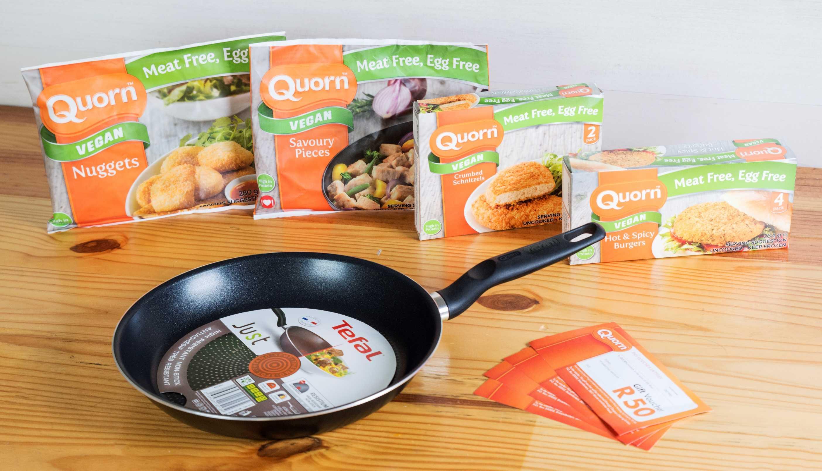 Quorn Vegan hamper give-away