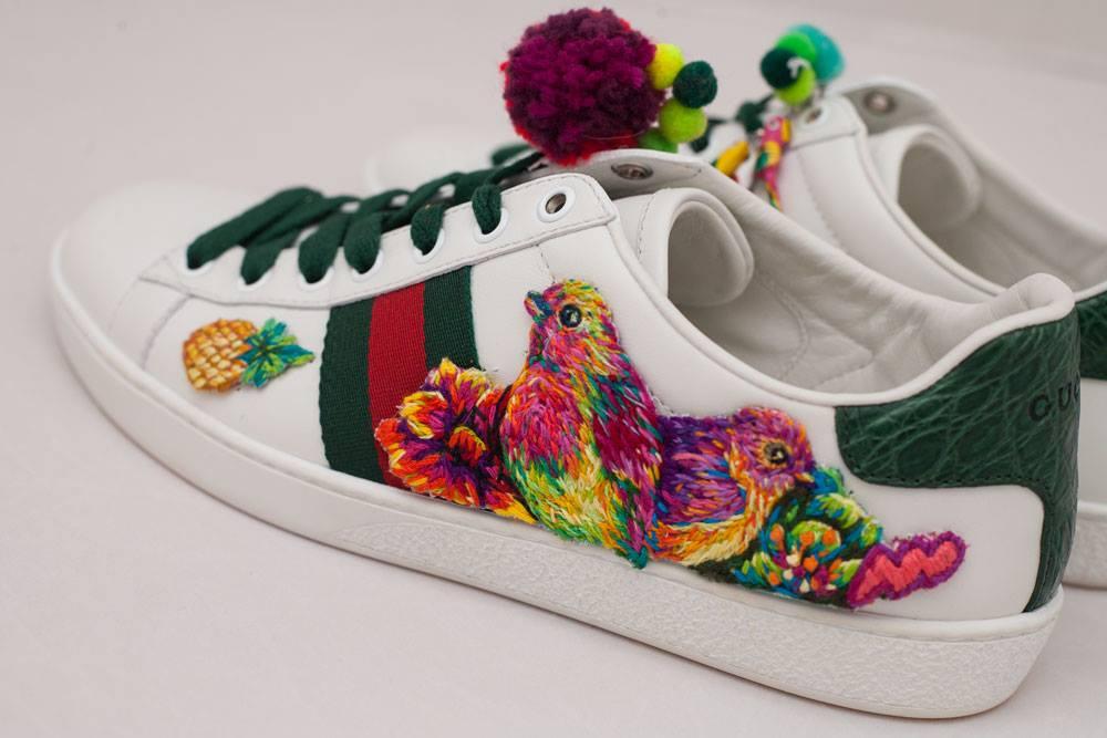 Gucci - Ace - Danielle Clough - Embroidery Artist1