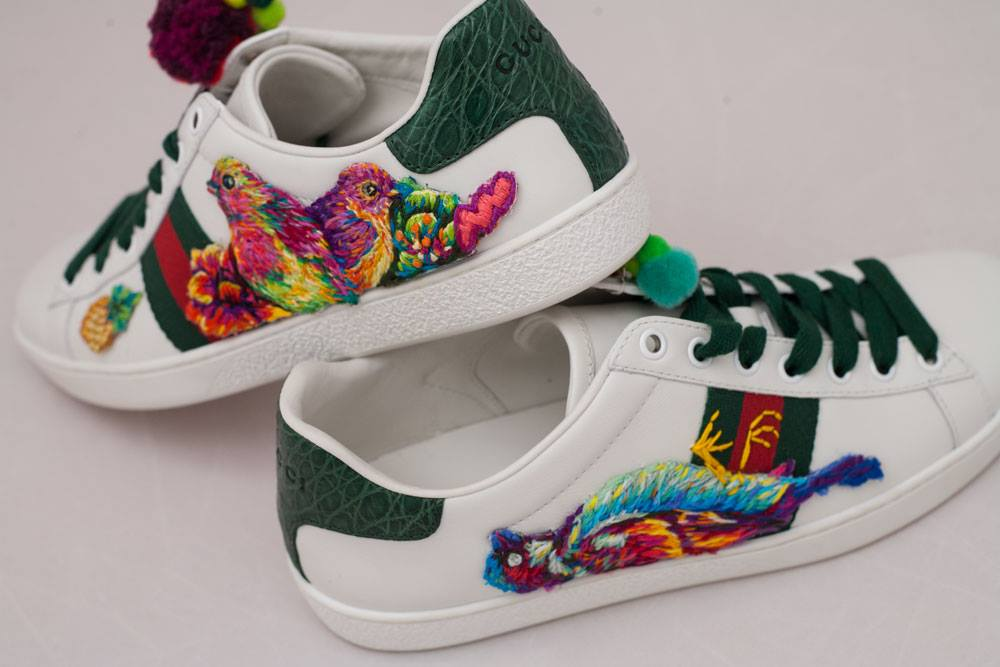 Gucci - Ace - Danielle Clough - Embroidery Artist2