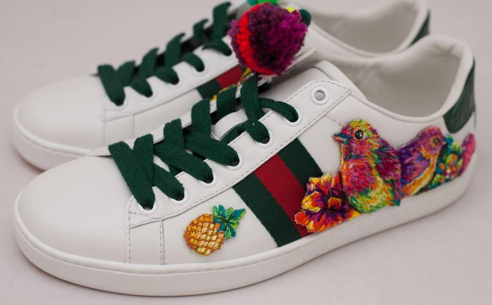 Gucci - Ace - Danielle Clough - Embroidery Artist4