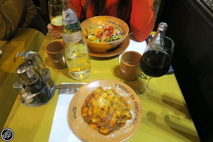 Osteria Da Fortunata - Rome Restaurant - Boring Cape Town Chick12