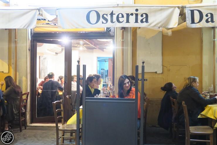 Osteria Da Fortunata - Rome Restaurant - Boring Cape Town Chick20