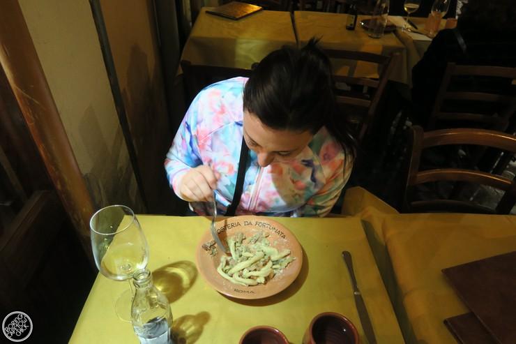 Osteria Da Fortunata - Rome Restaurant - Boring Cape Town Chick29