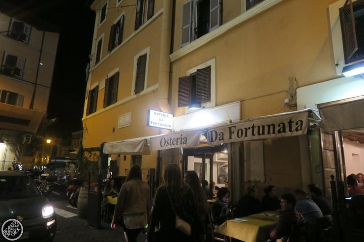 Osteria Da Fortunata - Rome Restaurant - Boring Cape Town Chick3