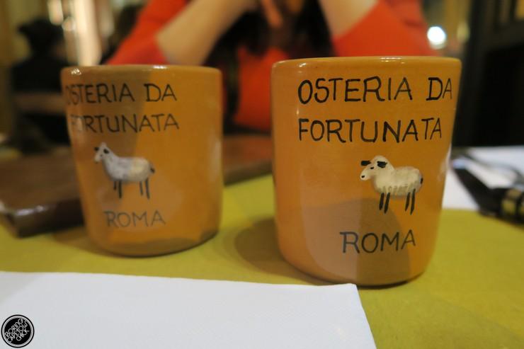Osteria Da Fortunata - Rome Restaurant - Boring Cape Town Chick7