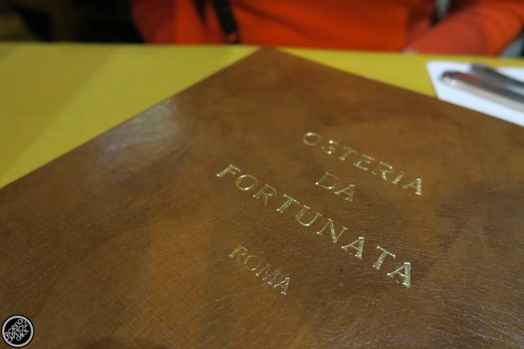 Osteria Da Fortunata - Rome Restaurant - Boring Cape Town Chick8