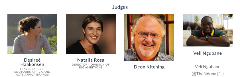 South African Travel Blog Award Judges