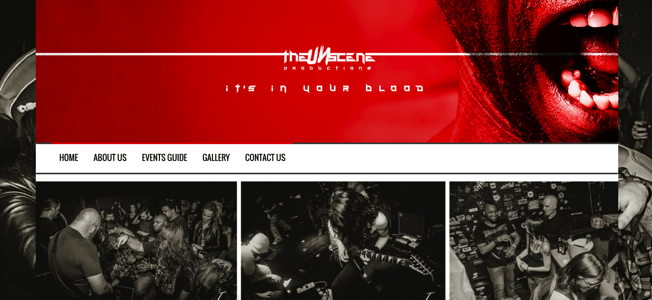 The UnScene Website