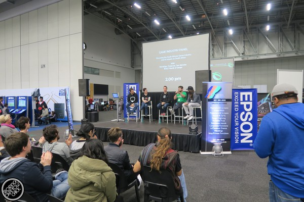 EGE - Electronic Games Expo - CTICC - Boring Cape Town Chick 2