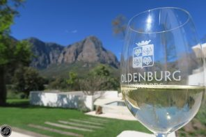 Celebrating Blue Skies of Spring at Oldenburg Vineyards