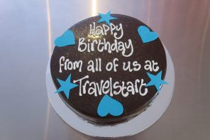 My Birthday at TravelStart