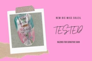 Tested: Miss Soleil Sensitive Razor
